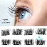 4 Pcs / False Eyelashes Magnetic Extension Beauty Makeup Accessories - myshoponline.com
