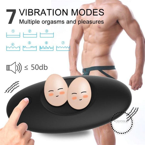 Anal Vibrator Butt Plug Anal Toys For Men Trainer Testis Wireless Remote Control Vibrator For Couple Prostate Massage Erotic Toy - myshoponline.com
