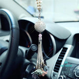 Car Pendant Diamond Crystal Ball Automobile Decoration - myshoponline.com