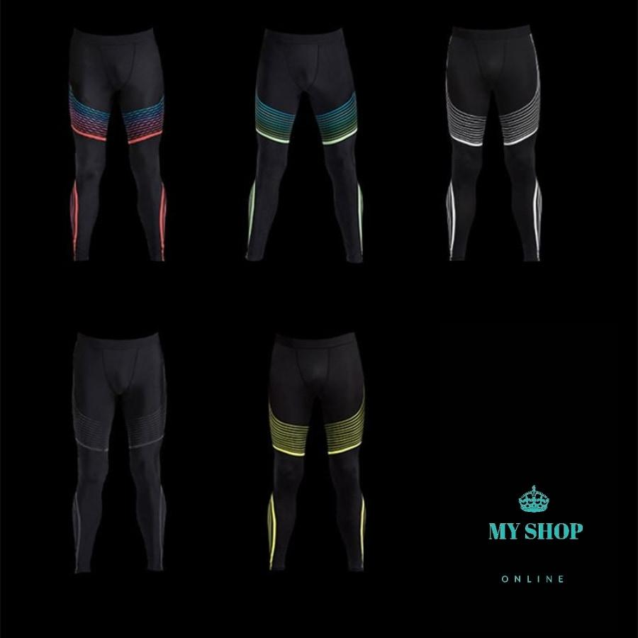 Compression Pants Quick Dry Fitness Leggings For Men Crossfit Clothing - myshoponline.com
