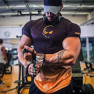 compression t-shirts skull changes color gyms t shirt men fitness shirts men t shirts - myshoponline.com