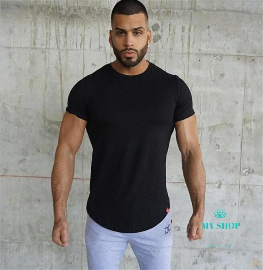cotton T-shirt Body Engineers Bodybuilding And Fitness Crime Short Sleeve T-shirt Slim - myshoponline.com