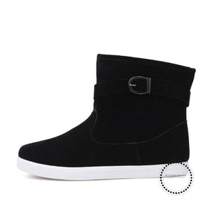 Fashion Soft Fabrics Brand Boots Confortable Casual Shoes High Help Non-Slip Footwears Hommes
