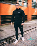 Fashion Sportswear Tracksuits Sets Mens Shark Hoodies+Pants Casual Outwear Suits Accesorios