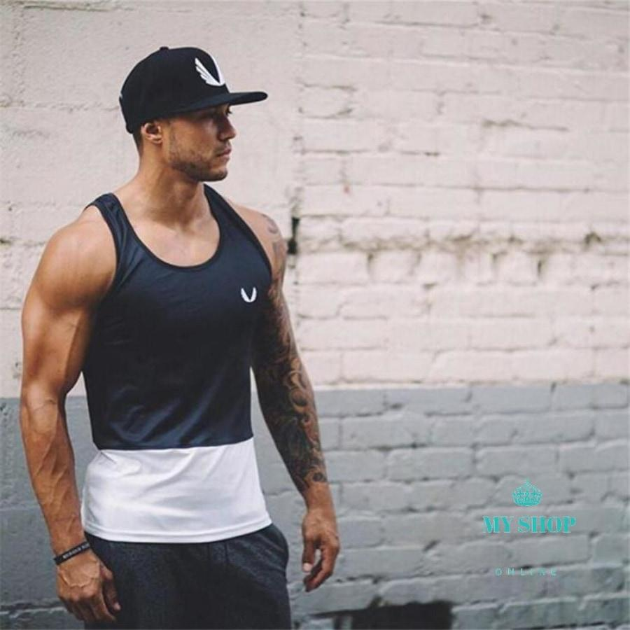Fitness Bodybuilding Tank Tops Men Accesorios