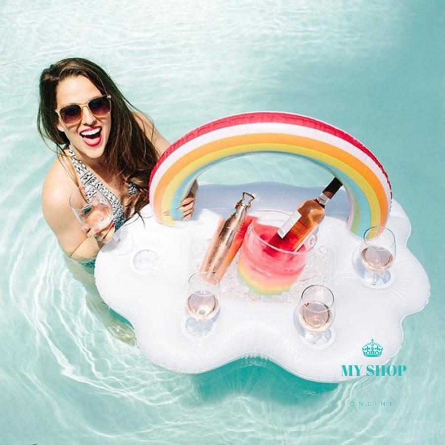 Giant Inflatable Flamingo Pool Float