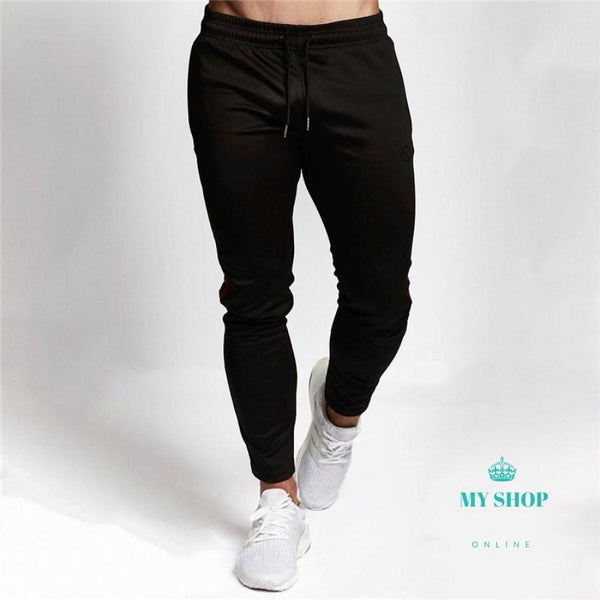 Gyms Clothing Men Pants Fashion Jogger Pants Skinny Casual Trousers