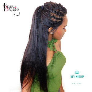 Lace Frontal Wig For Black Women 180% Density Accesorios