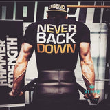 Men Cotton Gyms T Shirt Fitness Bodybuilding Shirts Crossfit Male Brand Tees Short Sleeve Gyms