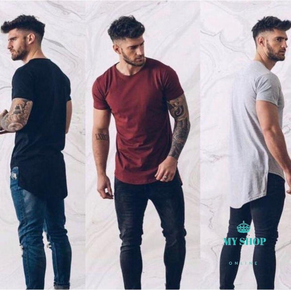 Men Hip Hop T-Shirt Swag Shirts Male Streetswear Tee Accesorios