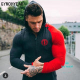 Men Set Sportwear Clothes Sweatshirt Hoodie+Pant Deporte