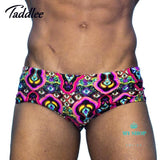 Men Swimwear Brazilian Classic Cut Mens Swimsuits Swimming Accesorios