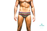 Men Swimwear Swimsuits Swim Boxers Mens Man Swimming Bikini Briefs Xf09 / S Accesorios