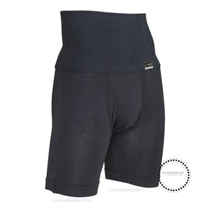 Mens Body Slimming Shaper Cotton Long Boxer Short Control Panties Shaping Pants Fitness Underwear
