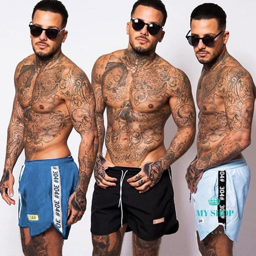 Mens Casual Summer Shorts Sexy Sweatpants Male Fitness Bodybuilding Workout Man Fashion Crossfit