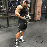 Mens Compression Shorts Summer Loose Python Bermuda Gyms Fitness Men Cossfit Bodybuilding Tights