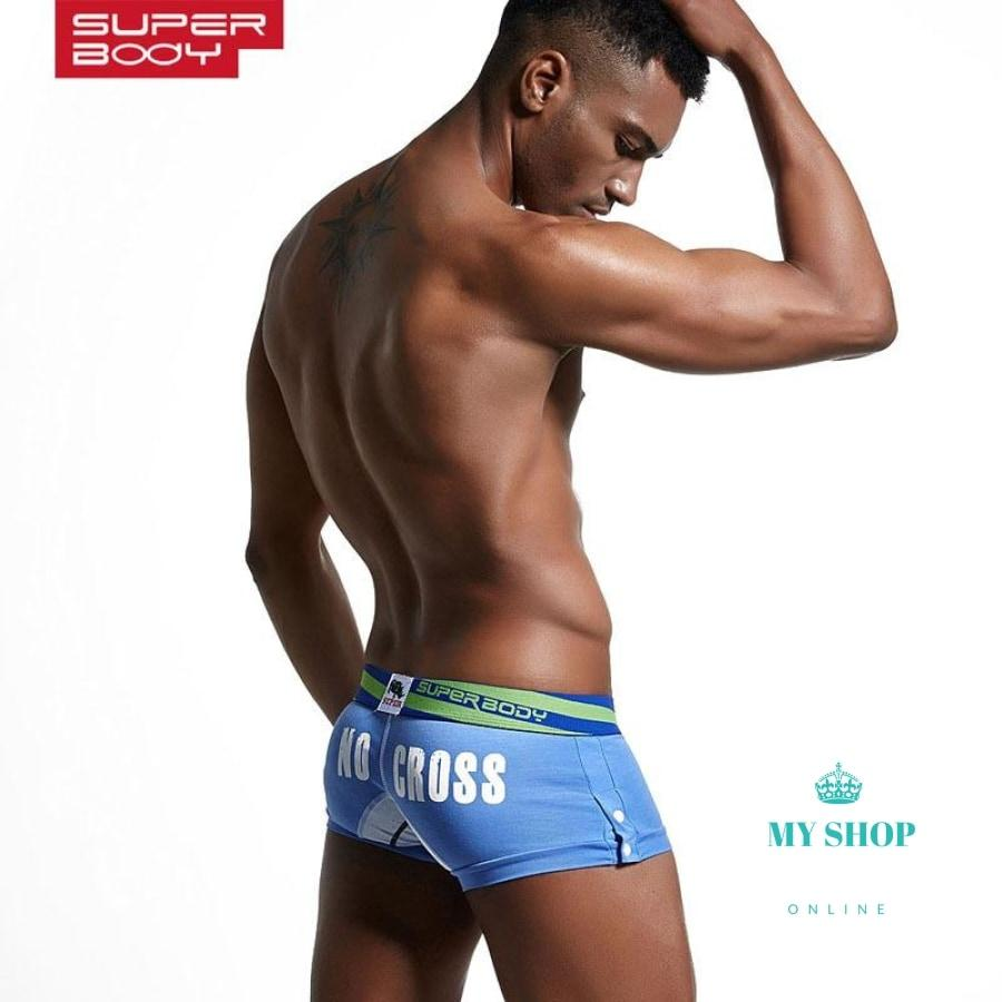 Mens Cotton Underwear Boxers Printed Underpants Accesorios