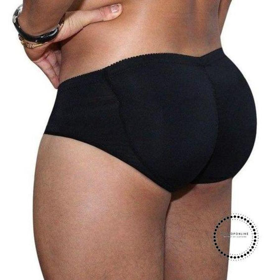 Mens Padded Butt Lifter Control Panties Models3 / S