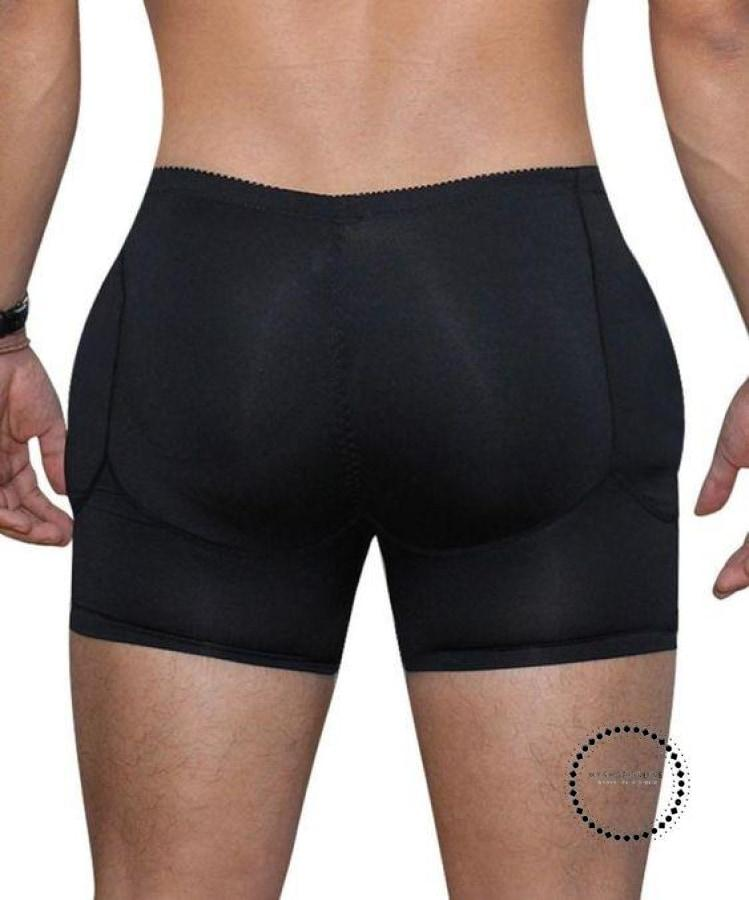 Mens Padded Butt Lifter Control Panties