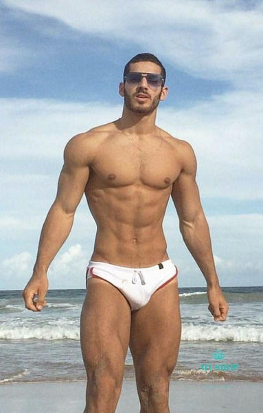 Mens Sexy Trousers Swimwear Beachwear Red / M Hombres