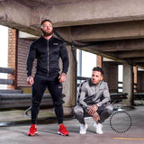 New Fashion Men Set Long Sleeve Camouflage Hoodies+Pants Male Tracksuit Outdoors Suit Mens Gyms