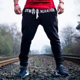 Pants Men Fitness Bodybuilding For Runners Autumn Sweat Trousers Britches Bk05B1 / M Accesorios