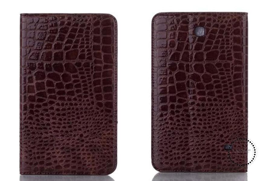 Pen+Film+Luxury Fashion Crocodile Leather Stand Case Smart Cover For All Tablet Cases Accesorios