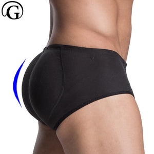 Butt Lifter PRAYGER Enhancer Underwear Men Shaper Padded Corset Sillicon Inserts Control Panties Sexy Removable Pads Buttocck