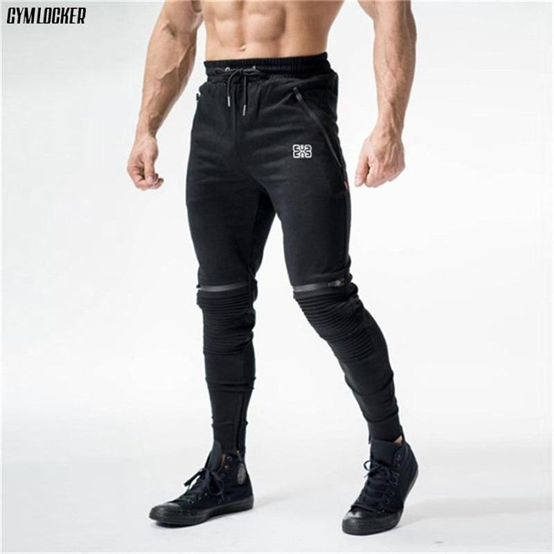 NEW GYMS Mens Joggers Pants Fitness Fashion Joggers Sweatpants Bottom Pants Men Bodybuilding Casual Pants