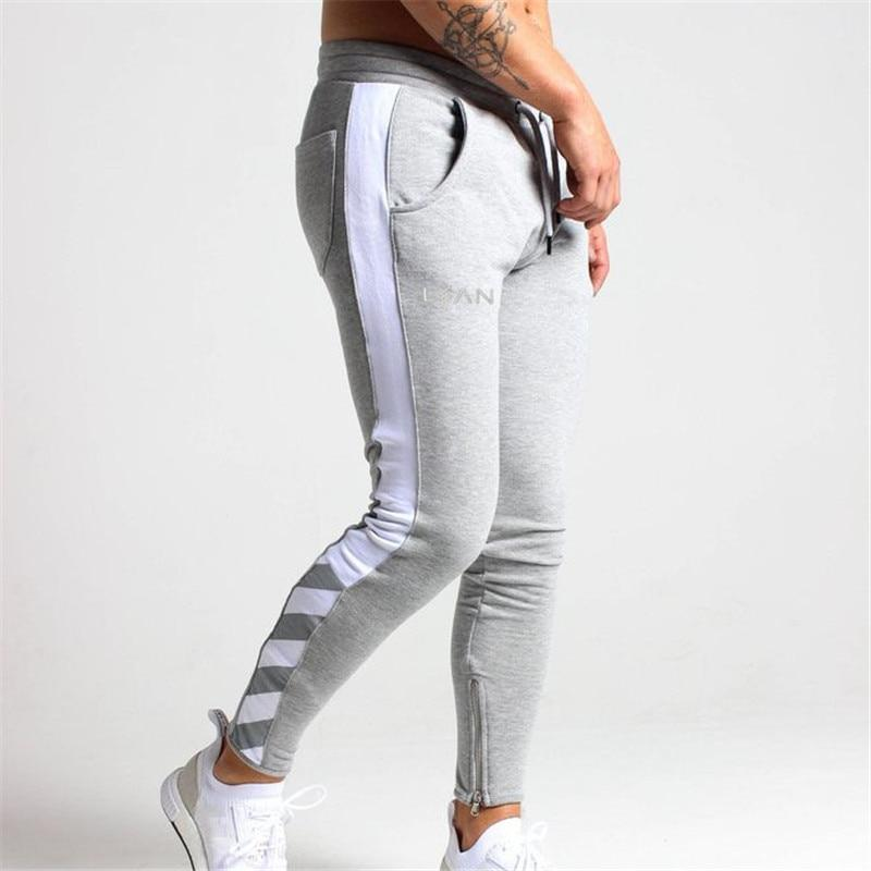 Spring Men Pants fashion Men Pants casual Slim Fit Mens Joggers Sweatpants pantalon homme men clothes
