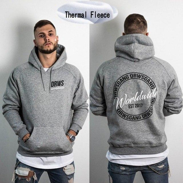 Hoodies Men Long Sleeve Hoodie Lightning FLIGHT CLUB BOYS print Sweatshirt Mens Casual Brand Clothing Hoody Jacket