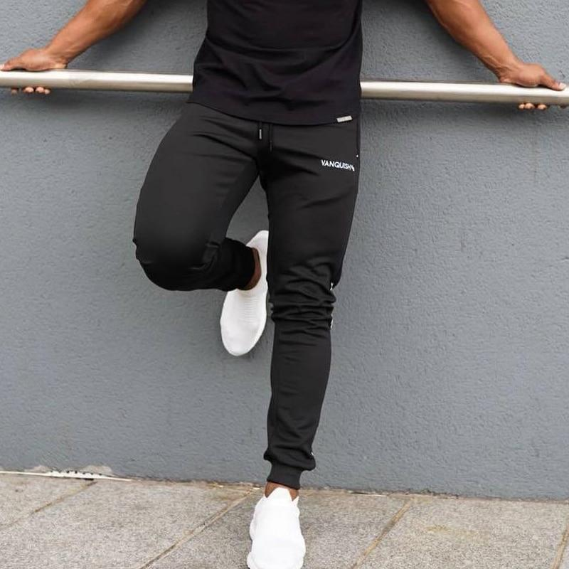 New Gyms Mens Joggers Pants Casual Fashion Brand Joggers Sweatpants Bottom Snapback Men Fitness Trousers