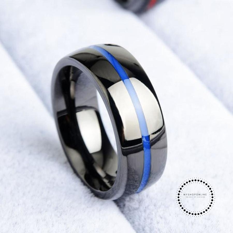 Rings 8 / Blue Hombres