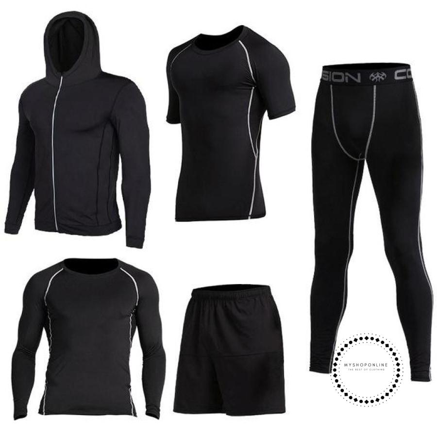 Running Sets Mens Sportswear Gym Clothing 12 / S Accesorios