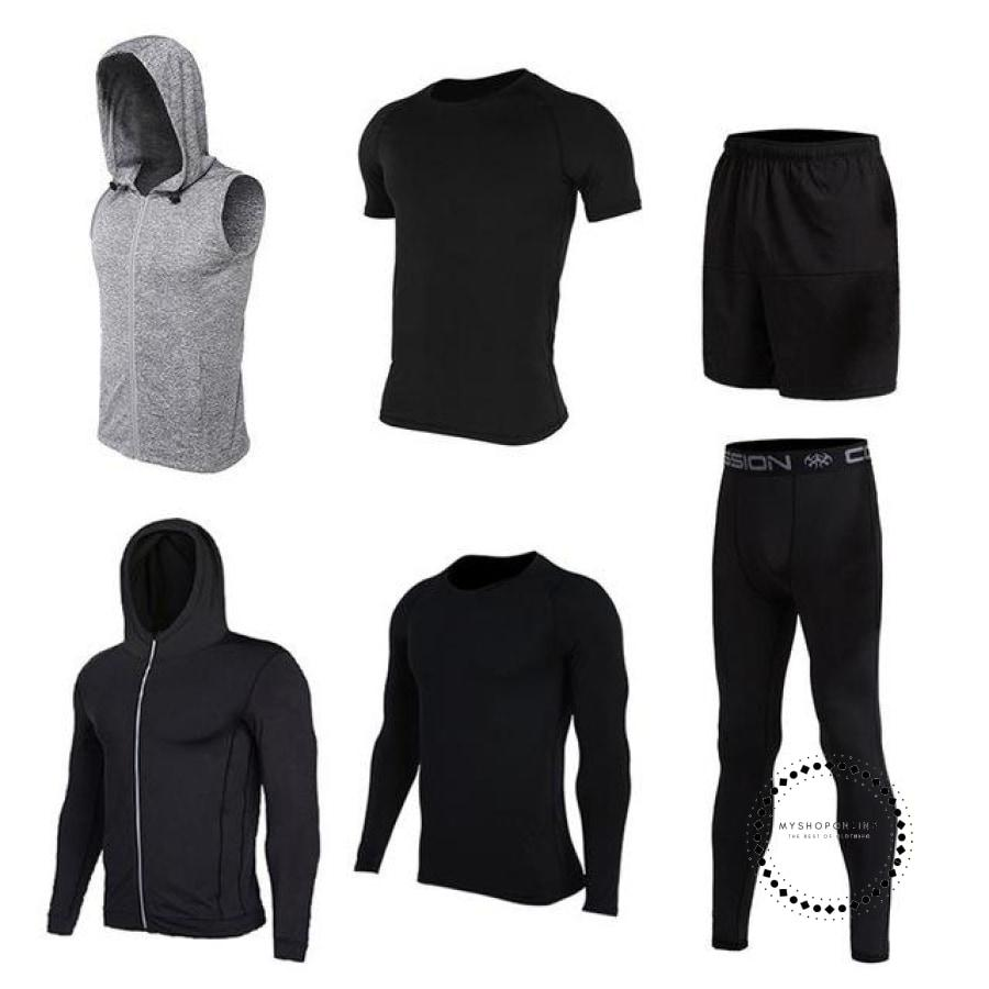 Running Sets Mens Sportswear Gym Clothing 13 / Xl Accesorios