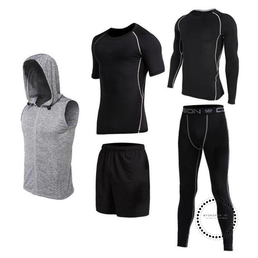 Running Sets Mens Sportswear Gym Clothing 19 / Xl Accesorios