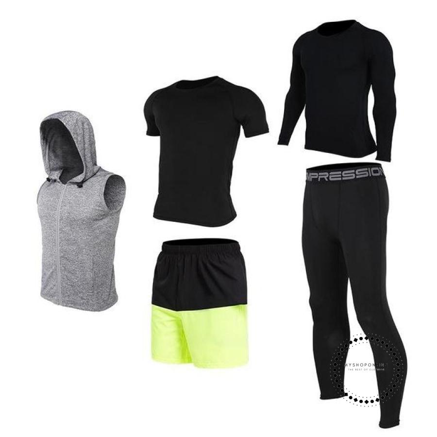 Running Sets Mens Sportswear Gym Clothing 21 / S Accesorios