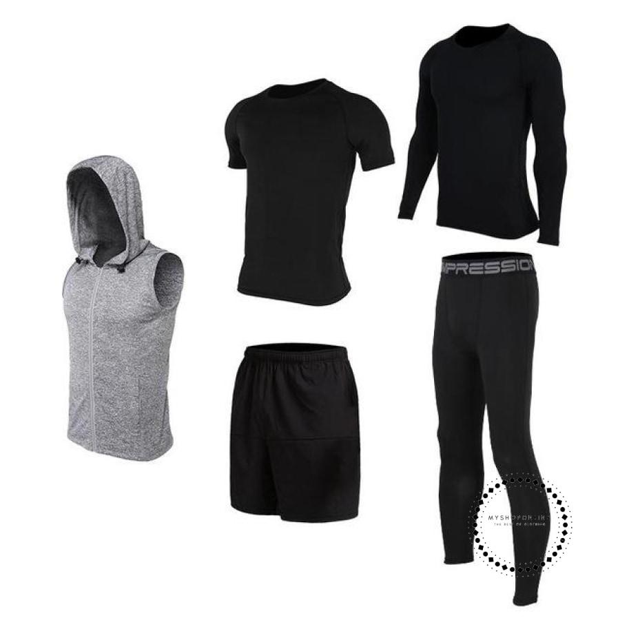 Running Sets Mens Sportswear Gym Clothing 22 / Xl Accesorios