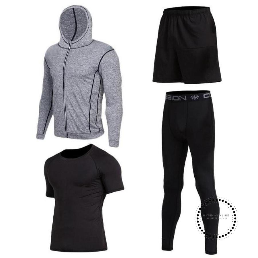 Running Sets Mens Sportswear Gym Clothing 5 / S Accesorios