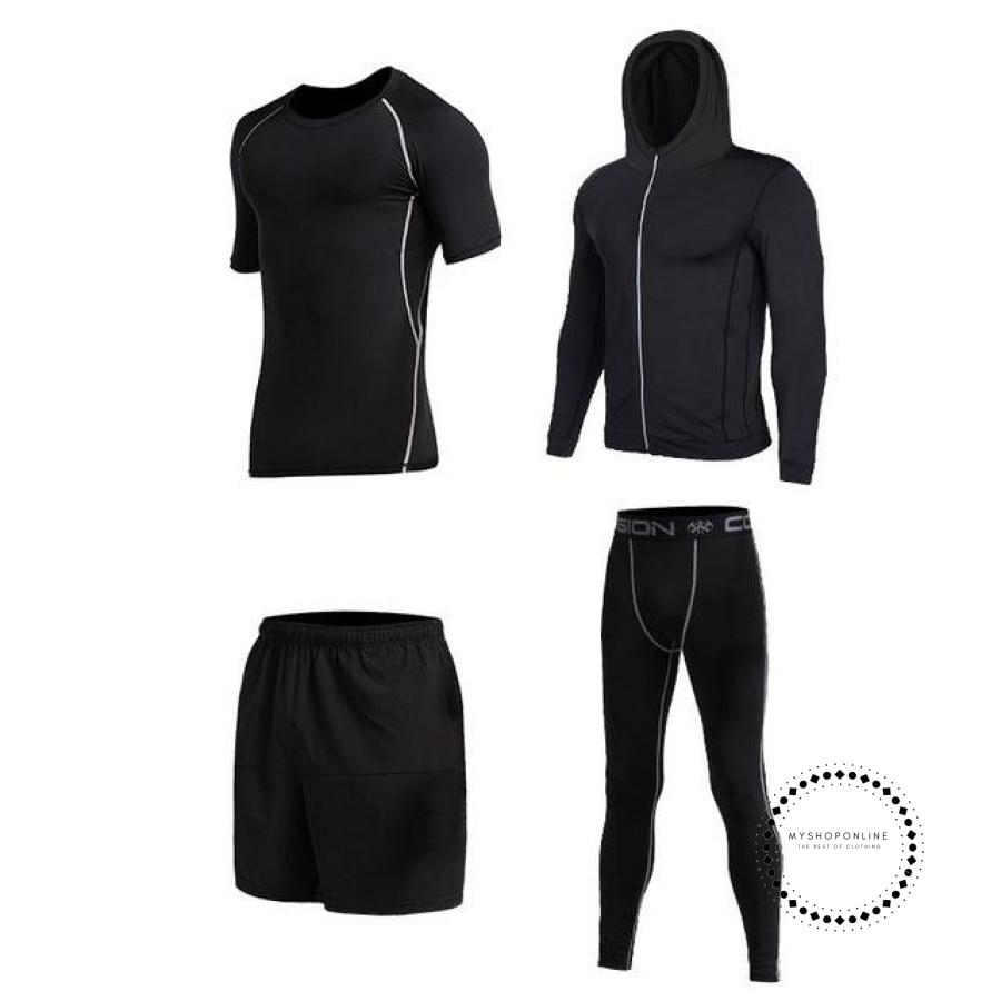 Running Sets Mens Sportswear Gym Clothing 6 / Xl Accesorios