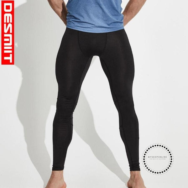 Running Tights Men Sport Leggings Compression Pants Winter Gym Fitness Yoga Basketball Cycling