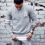 Sport Suit Men Set Running Gym Sportswear Tracksuits Fitness Body Building Mens Hoodies+Pants