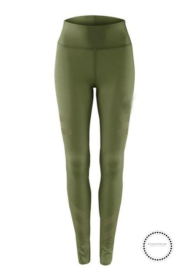 Sporting Leggings Clothing For Women Green / S Ropa Intérieur
