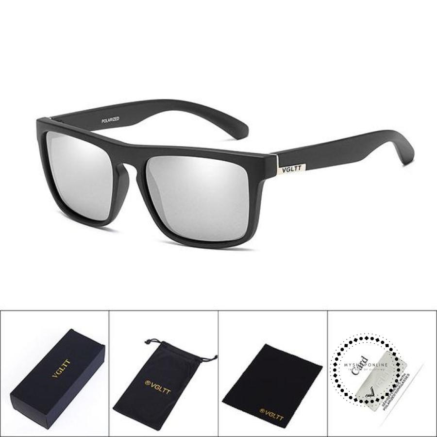 Sunglasses For Men N43 Black Silver Accesorios