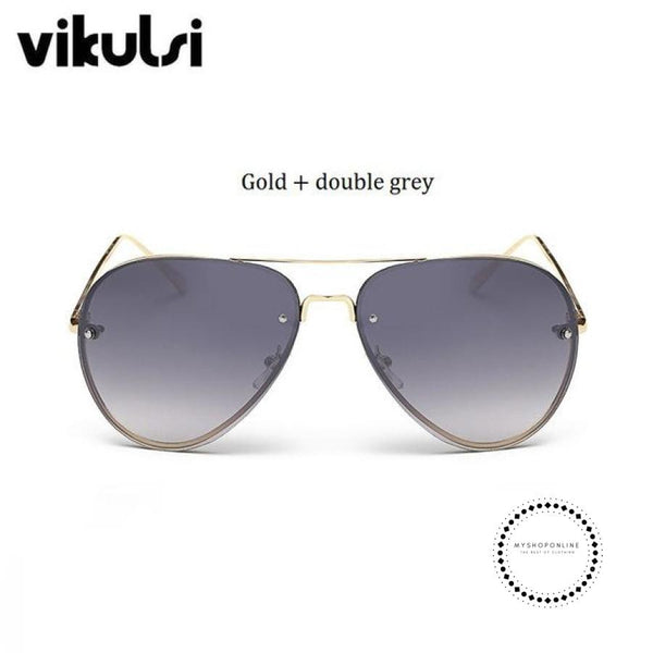 Sunglasses Women A795 Double Ggrey Accesorios