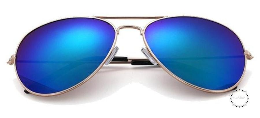 Sunglasses Women And Men Gold F Green / Colors Accesorios