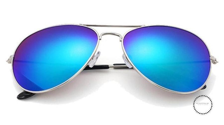 Sunglasses Women And Men Silver F Green / Colors Accesorios
