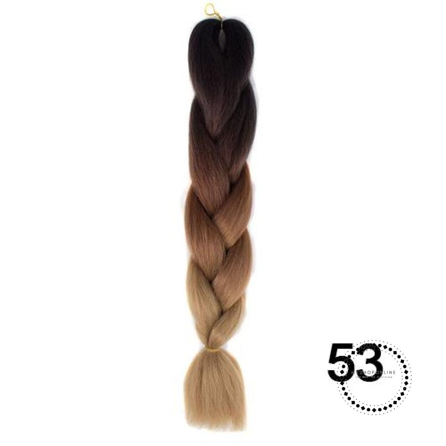 Synthetic Braiding Hair Crochet Blonde Extensions Jumbo Braids Hairstyles #30 / 24Inches Accesorios