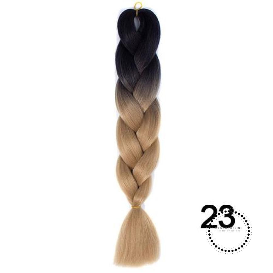 Synthetic Braiding Hair Crochet Blonde Extensions Jumbo Braids Hairstyles #35 / 24Inches Accesorios