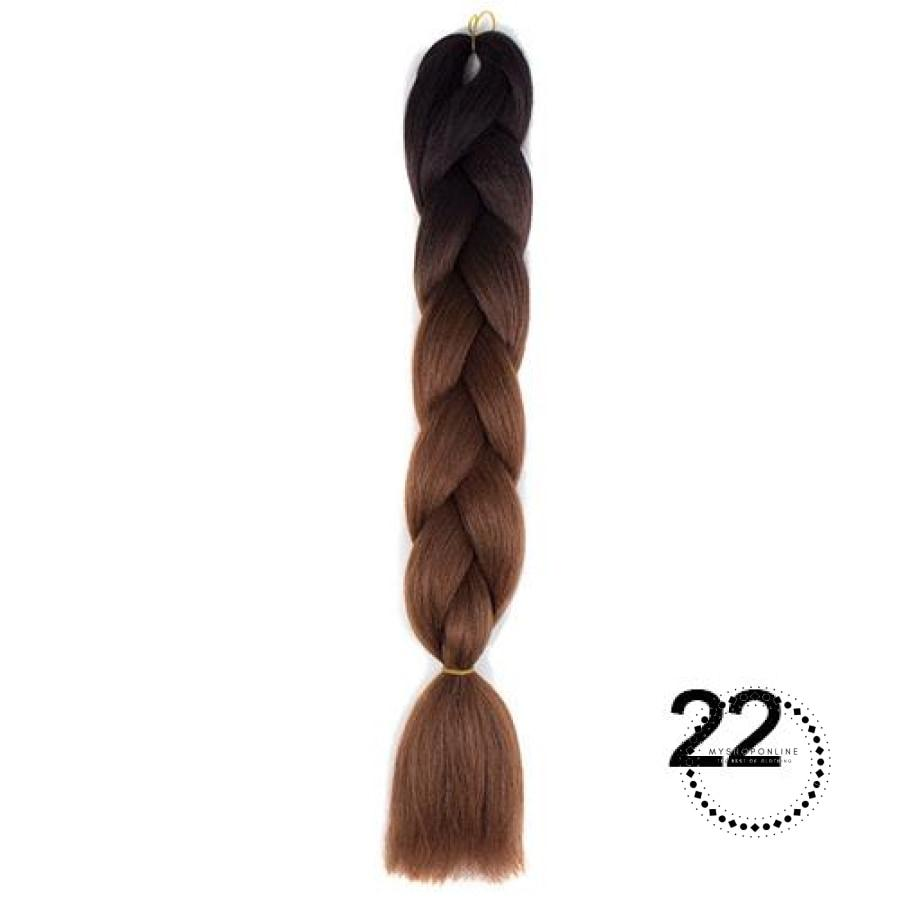 Synthetic Braiding Hair Crochet Blonde Extensions Jumbo Braids Hairstyles Ombre / 24Inches